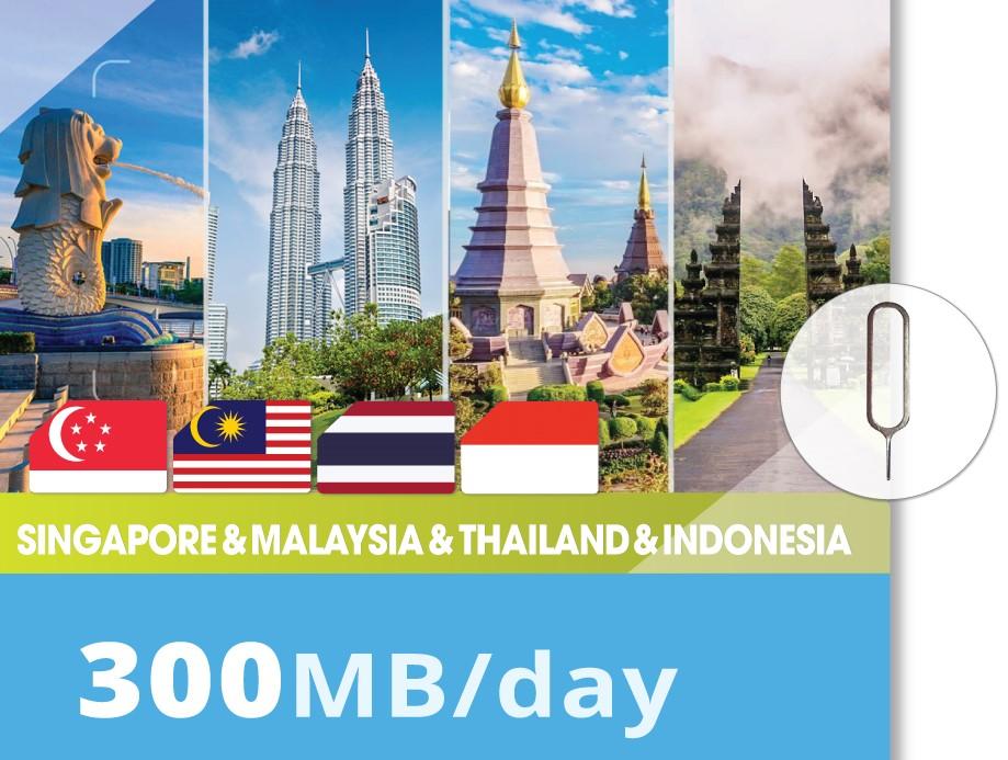 Singapore&-Malaysia&Thailand&-Indonesia-300MB