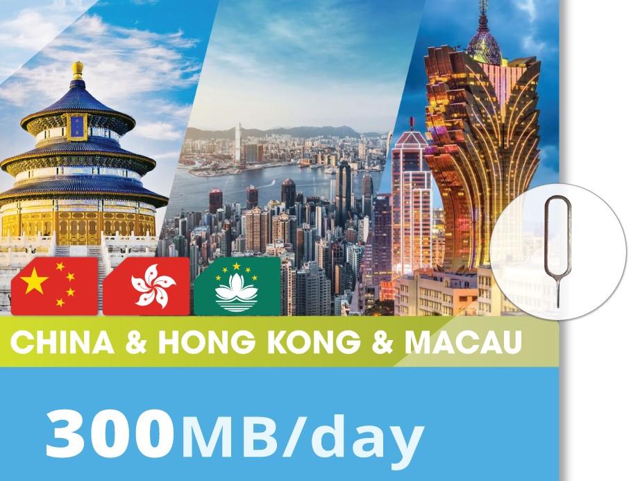 China&Hong-kong&Macao-300MB