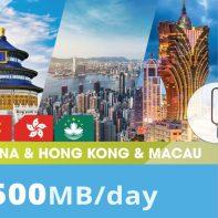 China&Hong-kong&Macao-500MB