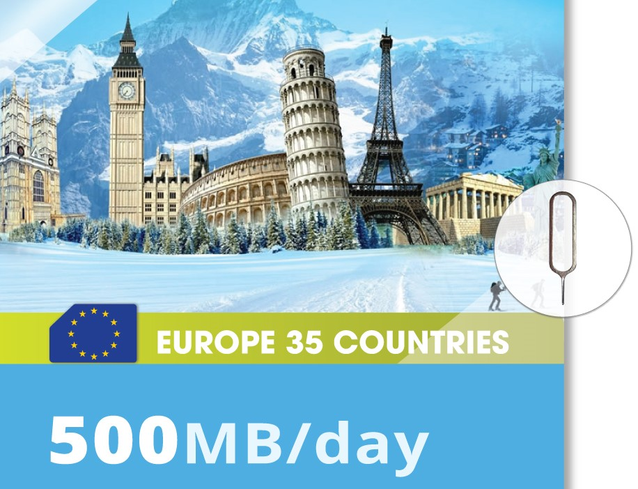 Europe-35-Countries-500MB