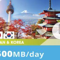 Japan&-Korea-500MB