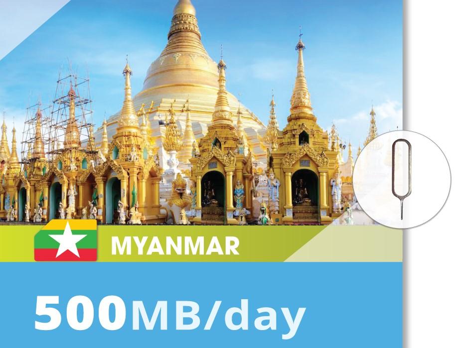 Myanmar-500MB