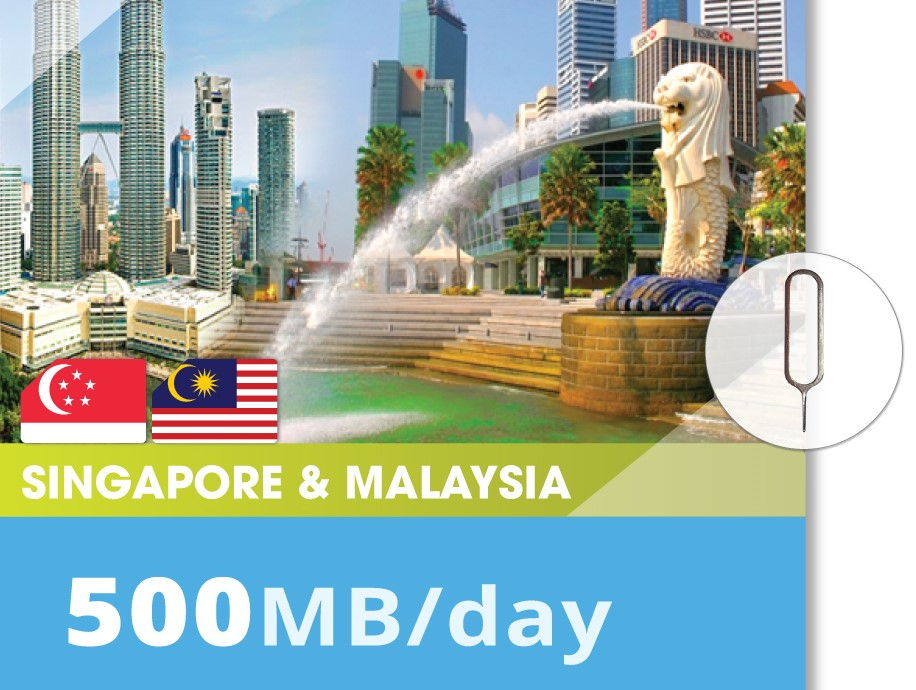 Singapore&Malaysia-500MB