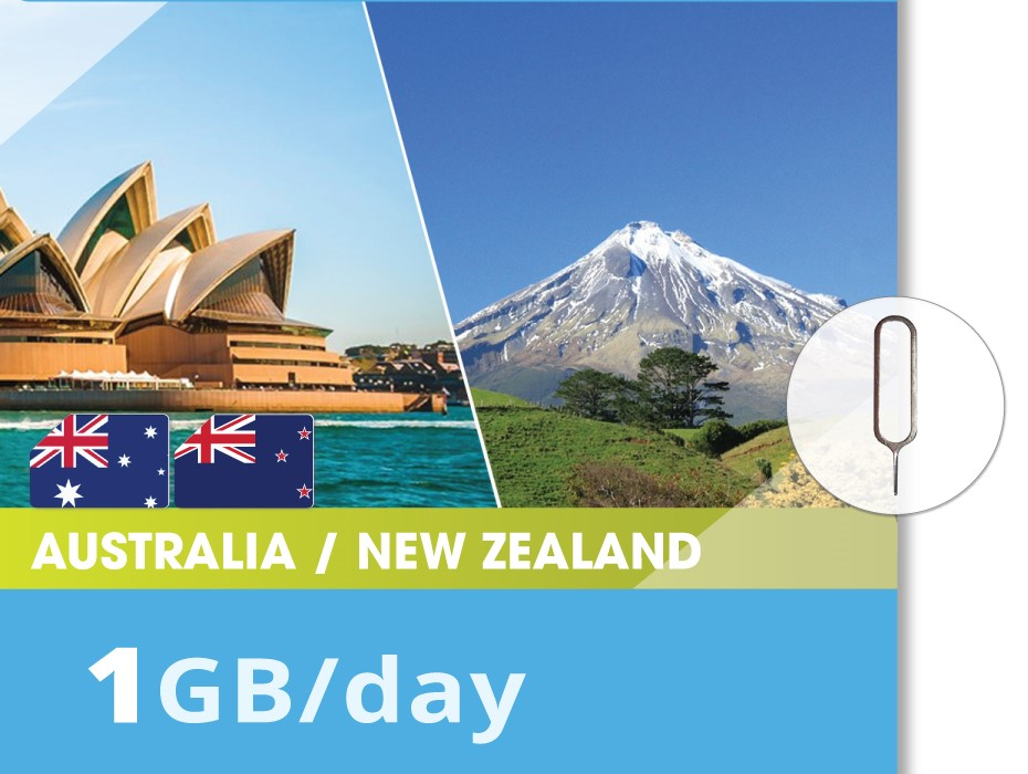 Autralia-New-Zealand-1GB